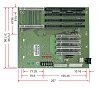 PBP-08P4,PICMG 1.0,Industrial Backplane,Industrial Computer