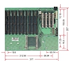 PBP-14P4,PICMG 1.0,Industrial Backplane,Industrial Computer