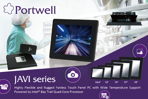 PORTWELL LAUNCHES JAVI PANEL PC SERIES