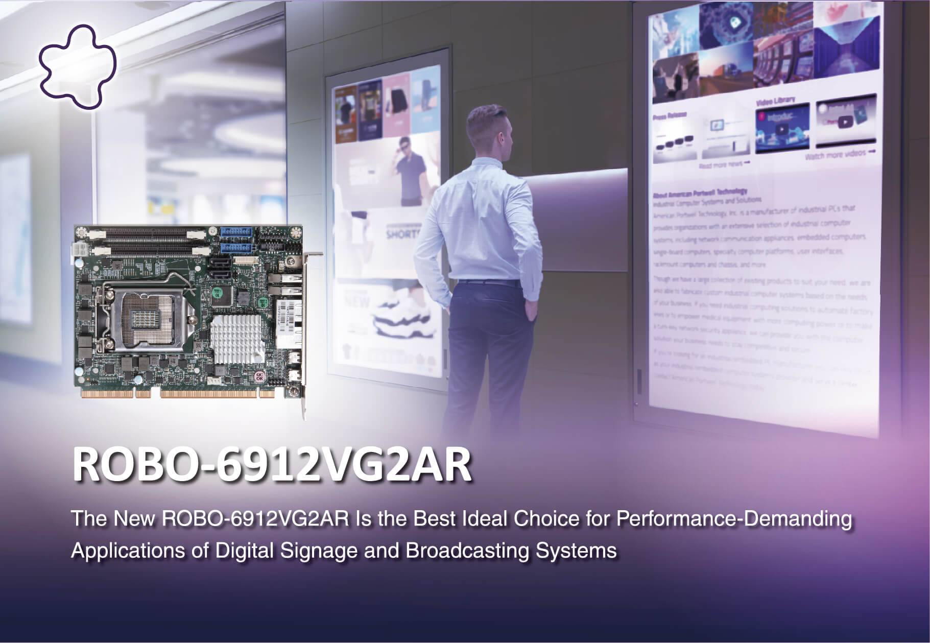 Portwell Launches New PICMG 1.3 Half-size System Host Board (SHB) Featuring Latest Intel® Xeon® E-2100/2200 Family Processors With C246 Chipset