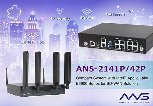 Portwell Launches New ANS-2141P/42P For SD-WAN Appliance And Ready For Upcoming 5g and Wi-fi 6 Technologies
