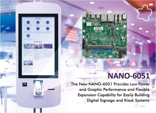 Portwell's Latest High-performance NANO-ITX Embedded Board Solution