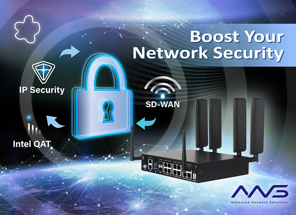 Boost Security in Networking Application with ANS-8A64 Series