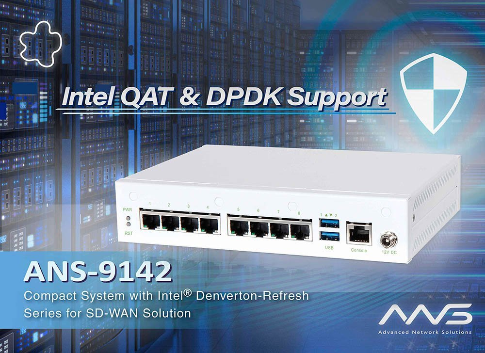 Portwell Expands Its Family of ANS Compact Desktop Network Security Appliances for SD-WAN Applications